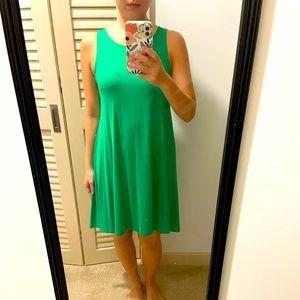 Fighting Eel green sleeveless dress